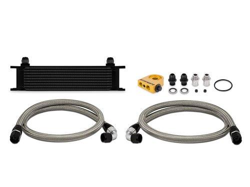 Mishimoto- 10 Row Black Universal Oil Cooler Kit