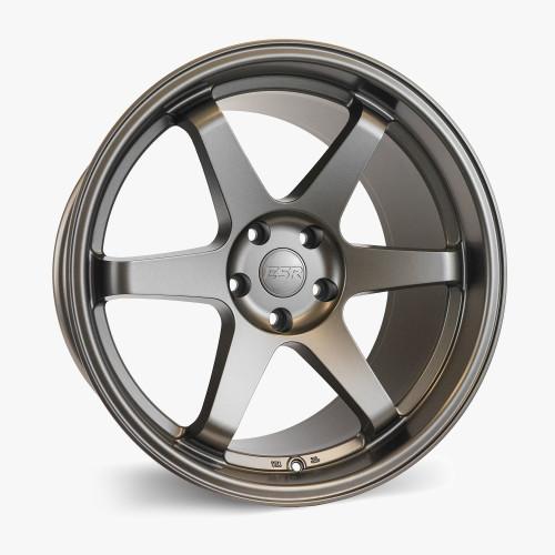 ESR Wheels SR07 18X8.5 5X114.3 +30 MATTE BRONZE FACE MATTE BRONZE LIP
