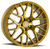 Aodhan Wheels LS009 18x9.0 5x120 +30 Gold Machined Face