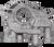 Boundary Pumps Oil Pump Assembly w/Billet Back Plate for Nissan VQ VHR 3.5L 3.7L