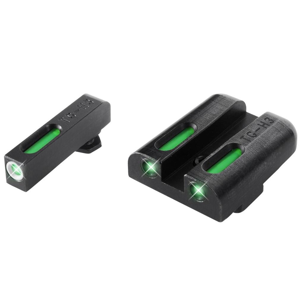 New TruGlo TFX Glock Low Set Pistol Tritium Fiber Day/Night Sights TG13GL1A