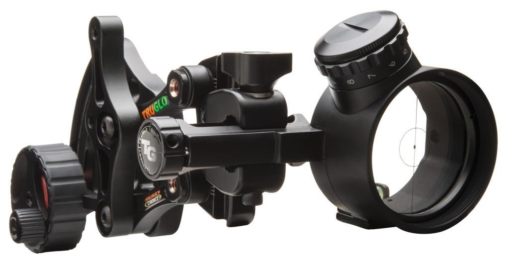 New  TruGlo Archer's Choice Range Rover Pro Power Dot Bow Sight TG6401GB