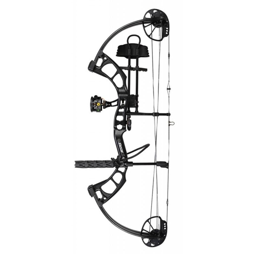 New 2017 Bear Archery Cruzer G2 RTH 5-70# RH Shadow W// Arrows /& Release