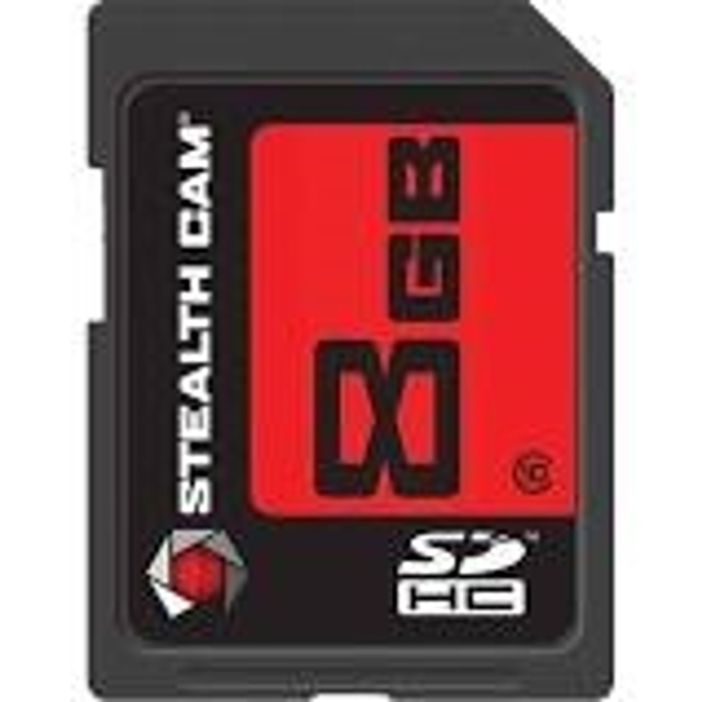 New Stealth Cam 8 GB Speed Class 10 SD Card