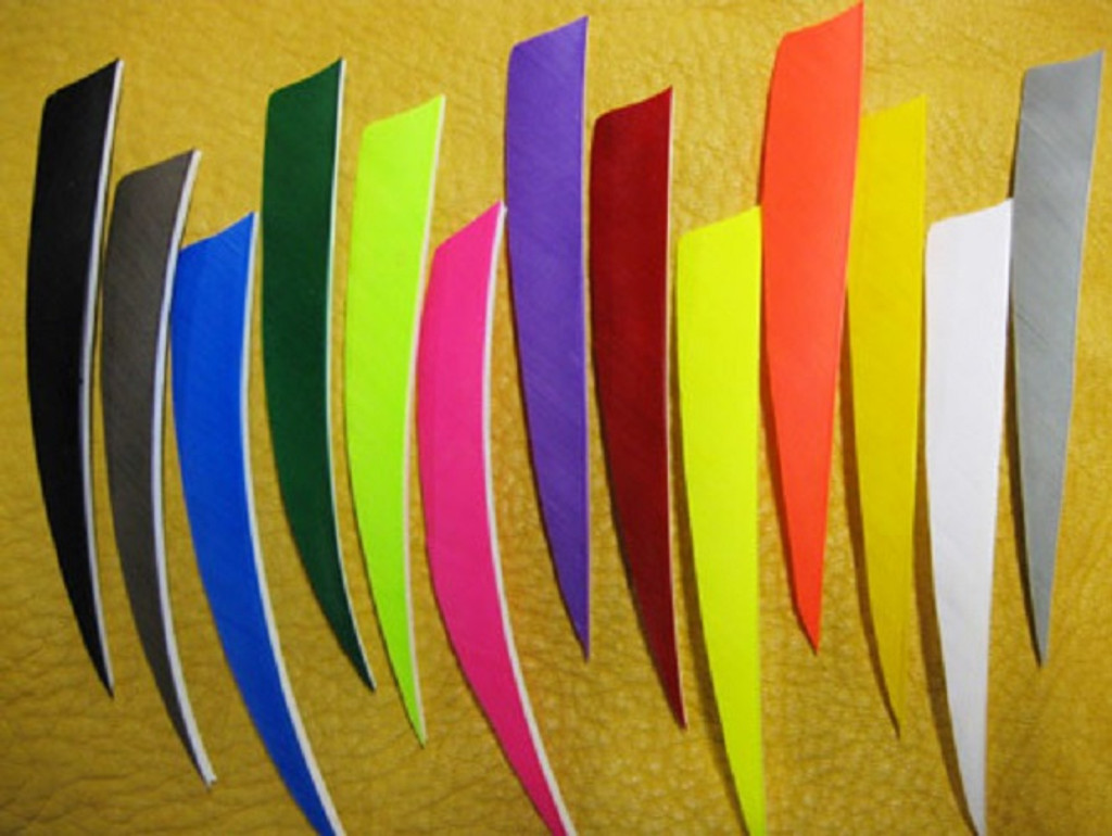 New AMG Feather Fletching Right Wing and Left Wing 100 Pack