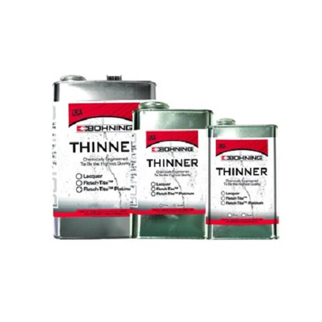 New Bohning Fletch-Tite Platinum Thinner Pint Can