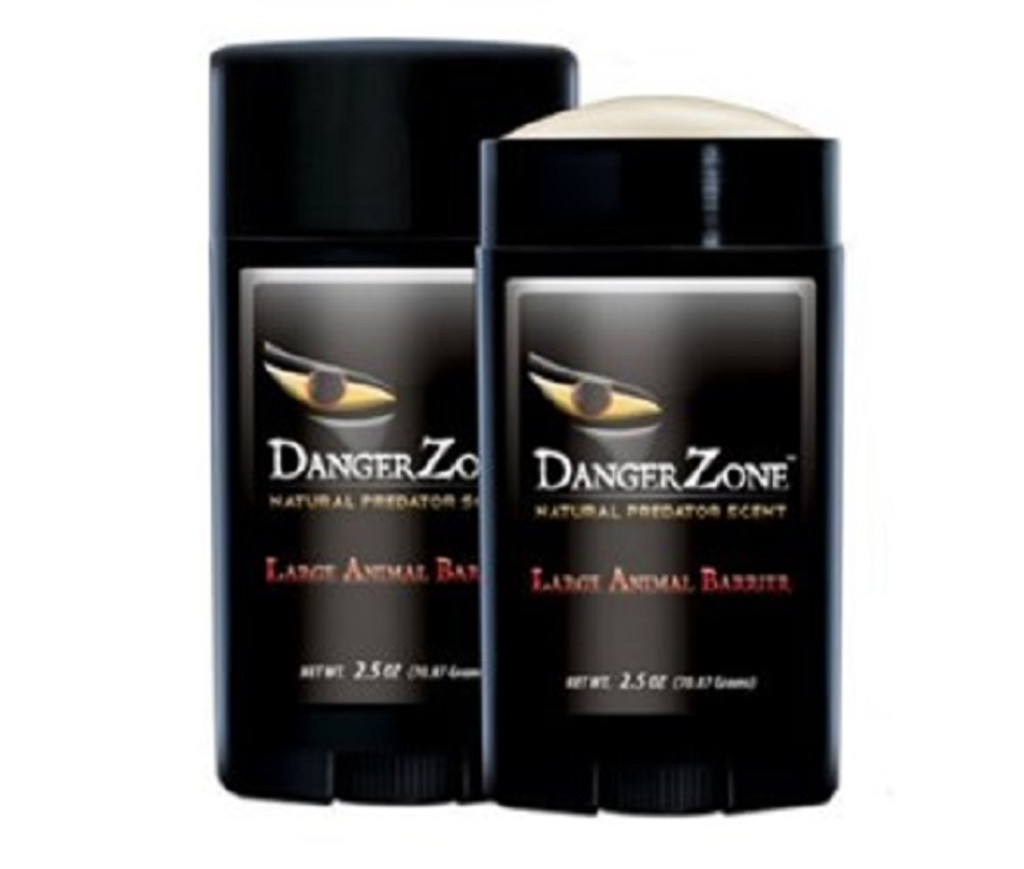 New Conquest Scents Danger Zone Large Animal Barrier Natural Predator Scent