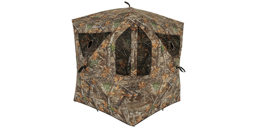 New Ameristep Silent Brick House Hub Blind Realtree Edge Camo AMEBL3002