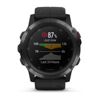 New Garmin Fenix 5X Plus Fitness GPS Smartwatch w/ Saphire Glass All Black Model
