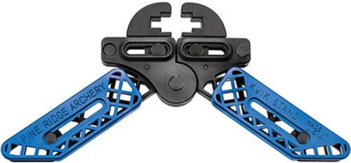 Pine Ridge Kwik Stand Adjustable Universal Bow Support Holder Blue