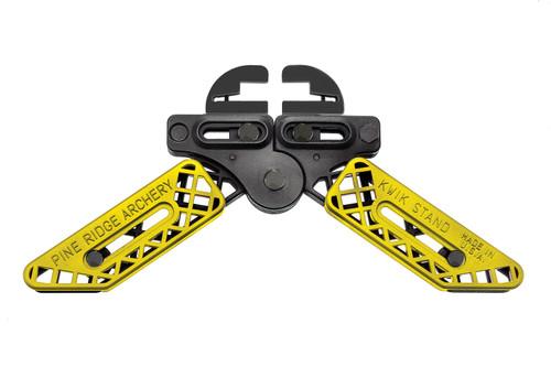 Pine Ridge Kwik Stand Adjustable Universal Bow Support Holder Yellow