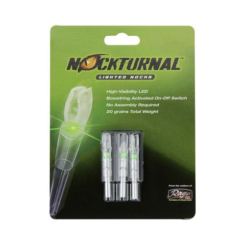 Nockturnal Green Lighted S Nocks Model# NT-205