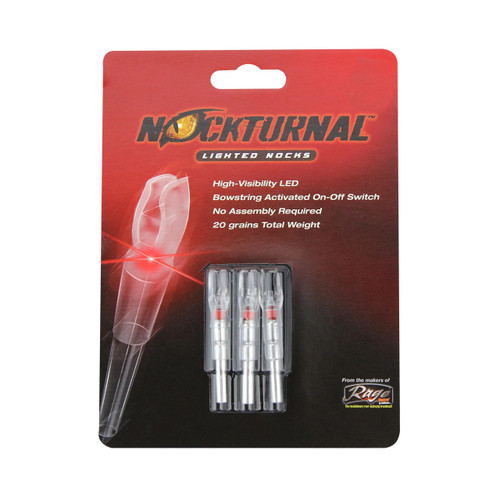 Nockturnal Red Lighted X Nocks Model# NT-502