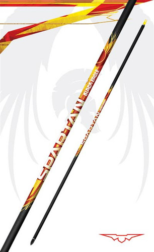 "Black Eagle Arrows- Spartan Shafts .001"" 200 Spine (1 DZ)"