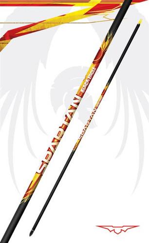 "Black Eagle Arrows- Spartan Shafts .001"" 350 Spine (1 DZ)"