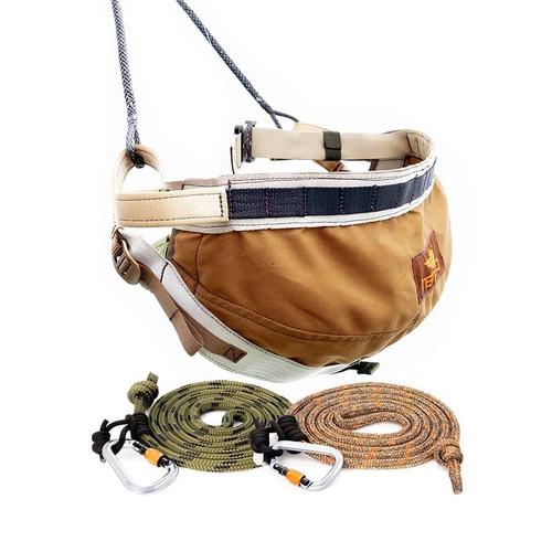 Tethrd Menace Tree Saddle Starter Kit Large