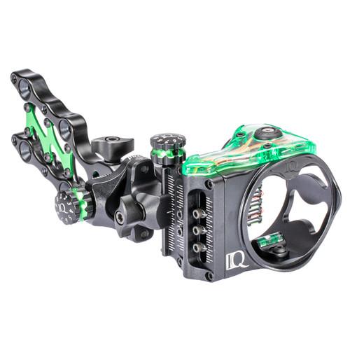 IQ Micro Retina Lock Bow-Sight 5 Pin (.019) Archery Compound RH Black
