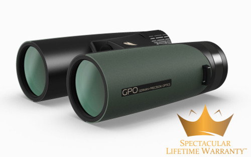 German Precision Optics Passion ED 10×42 Binocular, Deep Green