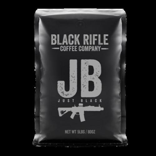 Black Rifle Company Coffee Just Black Ground 5lb Bag