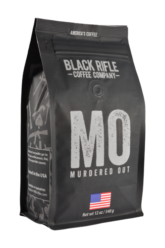 Black Rifle Company Coffee Murdered Out Ground 12oz