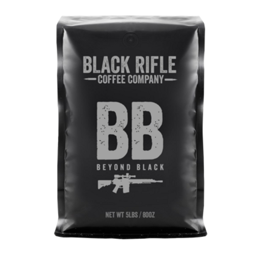 Black Rifle Company Coffee Beyond Black Ground 5lb Bag