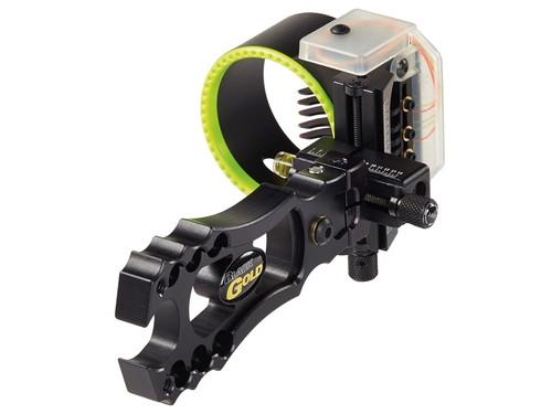 New Black Gold Revenge Micro Adjust 5 Pin (.019) RH Bow Sight Black RV5-RH