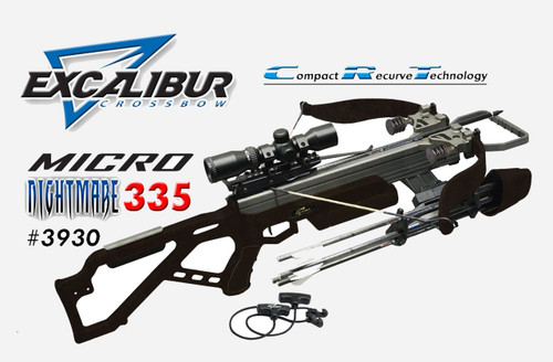 Excalibur Matrix Micro 335 Crossbow Scope Package Realtree Xtra 3330