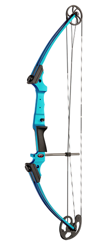 New Mathews Genesis Blue Raspberry One Cam Youth Bow LH Archery Kit Model# 10925