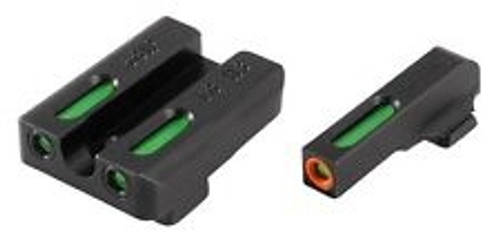 New TruGlo TFX Pro Glock Low Set Pistol Tritium Day/Night Sights TG13GL1PC
