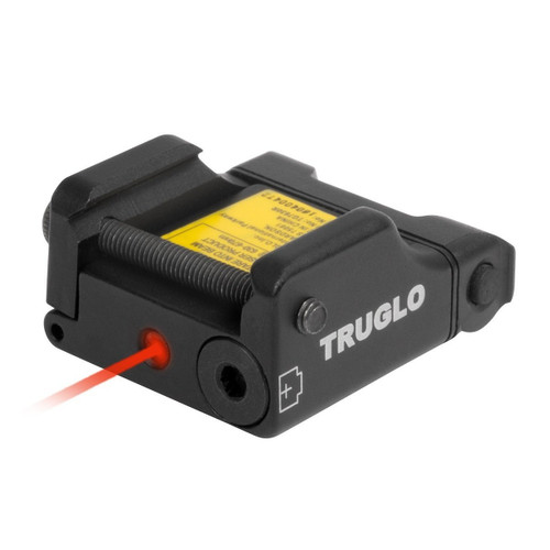New TruGlo Micro-Tac Tactical Pistol Red Laser Handgun Conceal Carry TG7630R