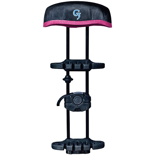 New G5 Head-Loc 6 Arrow Quiver Black & Pink w/ Tree Mounting Bracket