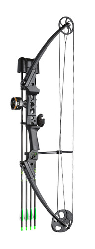 New Mathews Genesis Gen-X Youth Bow Black RH 25-40# Kit Model# 12338