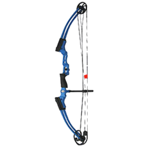 New Mathews Genesis Blue Raspberry One Cam Youth Bow RH Archery Kit Model# 10926