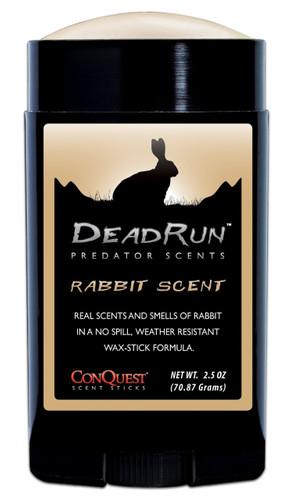 New ConQuest Scents Dead Run Rabbit Predator Scent Stick 2.5 oz Model# 1504