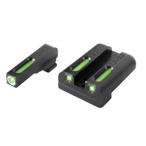 New TruGlo TFX Sig #8/#8 Set Pistol Tritium Fiber Day/Night Sights TG13SG1A