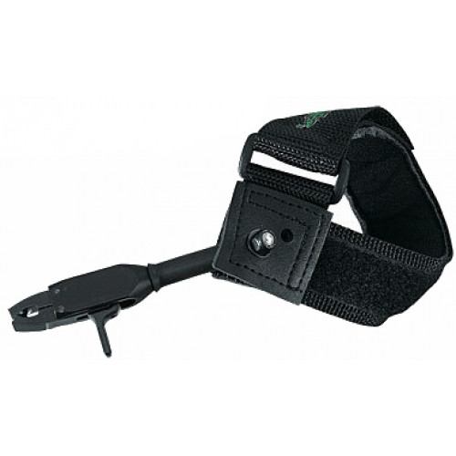 New Tru-Fire Patriot Archery Release Aid Velcro Strap Black