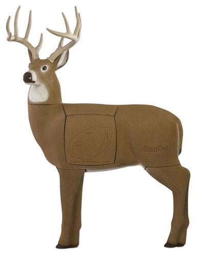 New GlenDel Full Rut 3D Deer Target Layered Foam Block