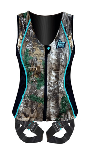 New Hunter Safety System Contour Ladies Harness S/M Realtree Xtra HSS-660