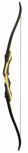 "New 2017 PSE Archery NightHawk Take Down Recurve Bow 50# Right Hand 62"""" Length"
