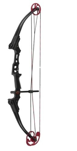New Mathews Genesis Black With Red Cam Mini Youth Bow LH Archery Model# 11418