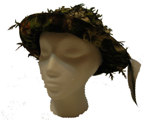 Mothwing Camo Spring Mimicry 2.0 Apex TreeD Alive Leaf Boonie Hat Turkey Hunting