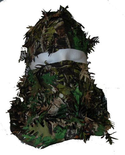 Mothwing Camo Spring Mimicry 2.0 Apex Tree-D Alive Leaf Headcover Turkey Hunting