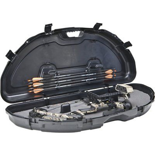 New Black Plano Protector Compact Hard Bow Case Model #111000