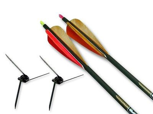 New Magnus Bullhead D.O.C. Bow Kit 100 Grain w/ 2 Victory Arrows & DVD Package