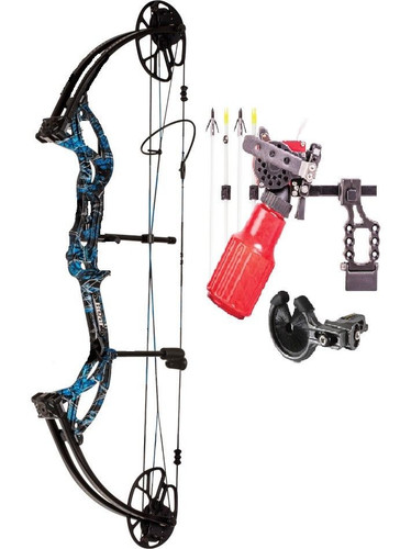 Bear Archery Cruzer G2 5-70# RH Moonshine Undertow Cajun Winch Bowfishing PKG