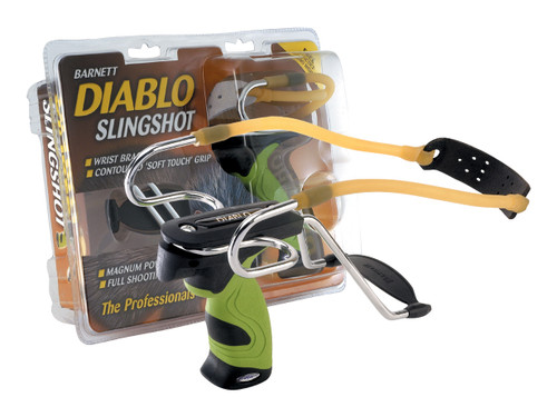 New Barnett Outdoors Diablo Slingshot SoftTouch Grip With Detachable Wrist Brace