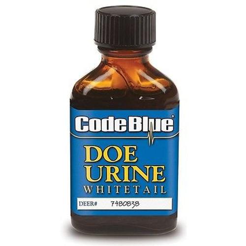 New Code Blue Whitetail Doe Urine Deer Buck Lure 1 fl oz Bottle OA1004