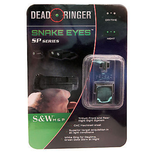 New Dead Ringer Snake Eyes SP Series Tritium Night Sight DR5064 S&W Series-1