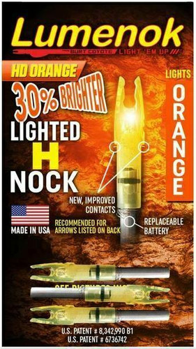 Lumenok ST Epic H HD Orange 3-Pack