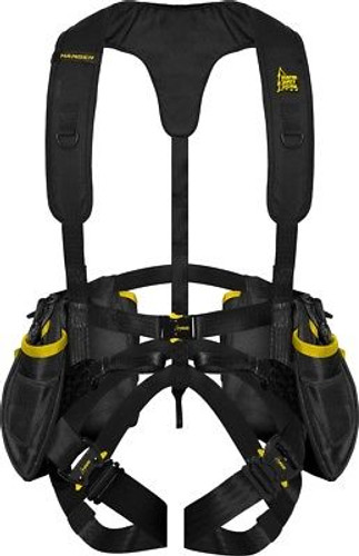 New Hunter Safety System Hanger Harness Black and Yellow HSS-HANG S/M